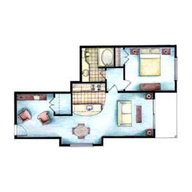 Peppertree Atlantic Beach - Unit Floor Plan