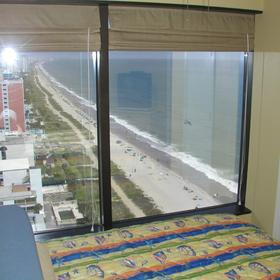 Seaglass Tower — Bedroom view
