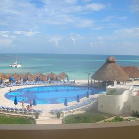 Temptation Resort & Spa — View over pool