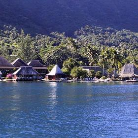 Club Bali Hai Moorea - View from across the Bay