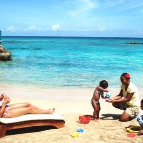 The Franklyn D. Resort & Spa — Beach with 'Nanny Service'