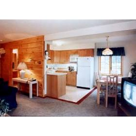 Calabogie Lodge Resort - Unit Living Area & Kitchen