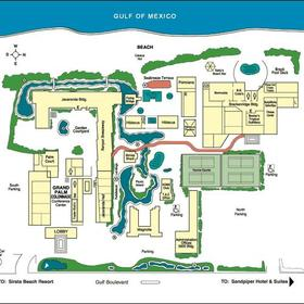 Map of the TradeWinds Island Grand