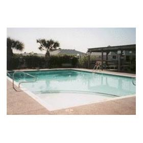 Pool at Leisure Club International at Padre Island