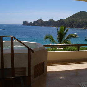 Cabo Villas Beach Resort & Spa — Deck view