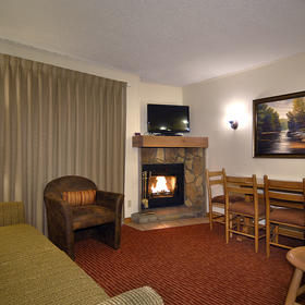 The Christie Lodge Living Area