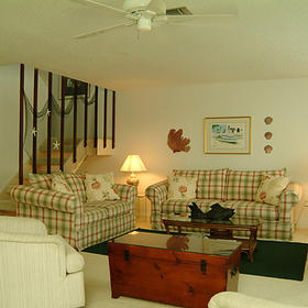 Blind Pass Condominiums - Unit Living Area
