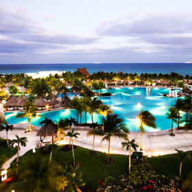 Grand Luxxe Riviera Maya — Larger Pool area by the beach