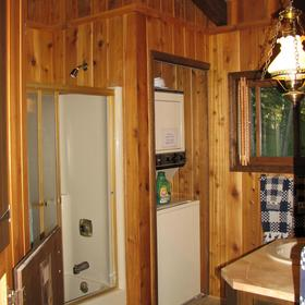 In-cabin laundry facilities