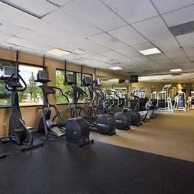 The Ridge Tahoe gym which you have access to as guests at The Ridge Sierra