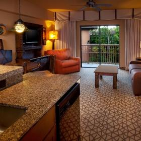Disney's Animal Kingdom Villas - Kidani Village Living Area
