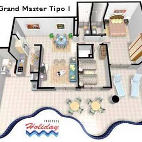 Ingleses Holiday Resort - Unit Floor Plan