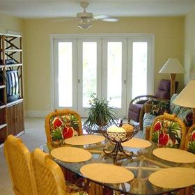 7 Mile Beach Resort — - Unit Dining Area