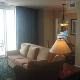 Westgate Myrtle Beach Oceanfront Resort — 1 of 3 living rooms