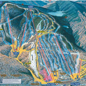 Village of Loon Mountain Condos — - Loon Trailmap