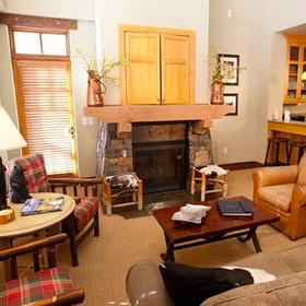 Miners Club at the Canyons Living Area