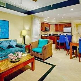 Divi Aruba Phoenix Beach Resort Living Area