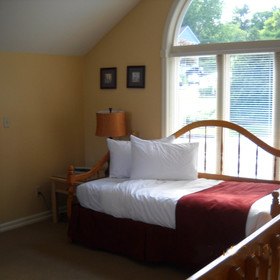 The Quarters at Lake George — Bedroom