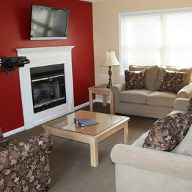 The Quarters at Lake George — Living Area