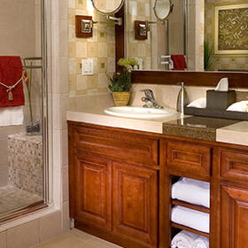 Villas on the Greens at Welk Resorts Bathroom