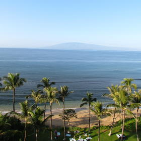 Marriott's Maui Ocean Club - Lahaina Villas — Kaanapali Beach from Balcony