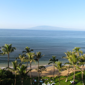 Kaanapali Beach from Balcony