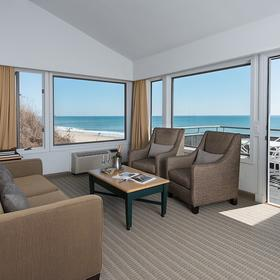 Gurney's Montauk Resort & Seawater Spa living Area