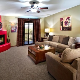The Village at Carefree Conference Resort Living Area