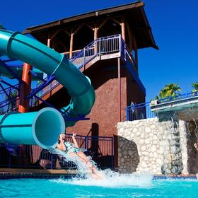 London Bridge Resort Pool and Waterslide
