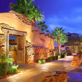 Cibola Vista Resort and Spa Grounds