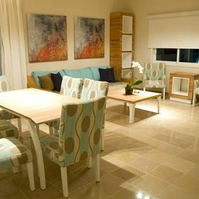 Presidential Suites by Lifestyle Holidays Vacation Resort — Dining and Living Area