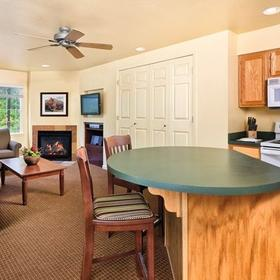 WorldMark Pinetop Living and Dining Area