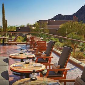 Four Seasons Residence Club Scottsdale at Troon North Balcony Dining