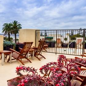 Coronado Beach Resort — Rooftop Deck