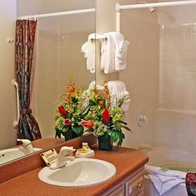 Sedona Pines Resort — Bathroom