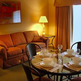 San Luis Bay Inn — Dining and Living Area