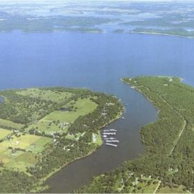 Royal Host Club at Lake Eufaula - Aerial View & Lake