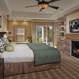 Mountain Villas at Welk Resorts Bedroom