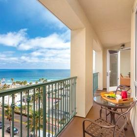 Wyndham Oceanside Pier Resort Balcony