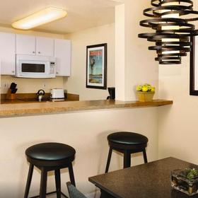 WorldMark Oceanside Harbor Kitchen and Dining Area
