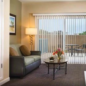 WorldMark Oceanside Harbor Living Area