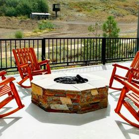 Red Wolf Lodge at Squaw Valley Fire Pit