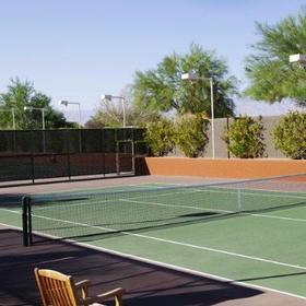 Embarc Palm Desert Tennis Court