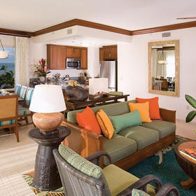 Marriott's Maui Ocean Club - Lahaina Villas Living Area
