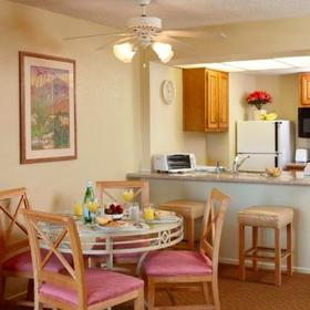 The Plaza Resort & Spa — Dining Area and Kitchen