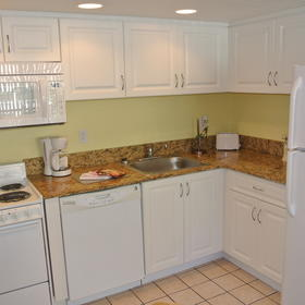 Sand and Surf Condominium — Kitchen