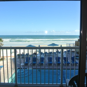 Sand and Surf Condominium — Balcony