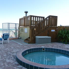 Sand and Surf Condominium — Hot Tub