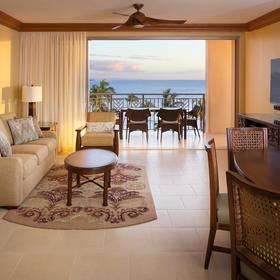 Hyatt Ka'anapali Beach - A Hyatt Residence Club Living Area