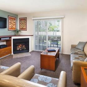 WorldMark Palm Springs Living Area